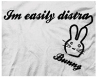 I'm Easily Distra...Bunny!