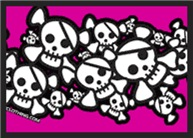 Cute Pirate Skulls