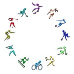My Sport Figures Color