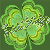 Vintage Lucky 4-leaf Clover