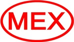 Mexico - MEX Oval (Red)