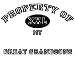 Property of my GREAT GRANDSONS