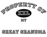 Property of my GREAT GRANDMA