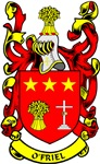O'FRIEL Coat of Arms
