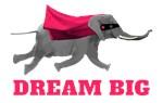 Dream big - Flying Elephant