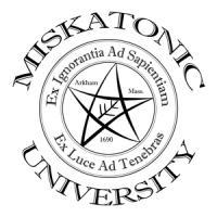 Miskatonic-Black/White