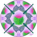 Dragonfly Mandala