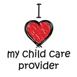 I love my child care provider