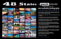 48 States  Calendar and Puzzle