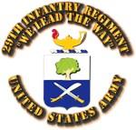COA - Infantry - 29th Infantry Regiment