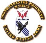 COA - Infantry - 505th Infantry Regiment