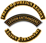 French Foreign Legion Tab