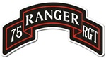 75th Ranger Regiment Scroll