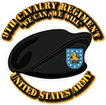 9th Cavalry Regiment - Beret