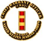 USMC - Chief Warrant Officer - CW2 - Retired