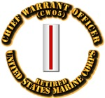 USMC - Chief Warrant Officer - CW5 - Retired