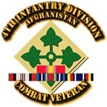Army - 4th Infantry Div w Afghan Svc