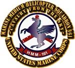 USMC - Marine Medium Helicopter Squadron 161 With