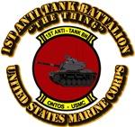 USMC - 1st Anti Tank Battalion with Text