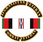 Afhganistan Veteran w Silver Campaign Star