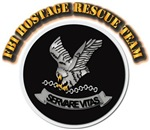 FBI Hostage Rescue Team with Text
