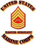 USMC - MSgt with Text