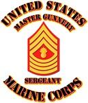 USMC - MGySgt with Text