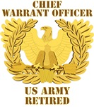 Army - Emblem - CWO Retired