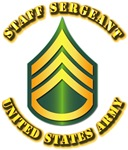 Army - Staff Sergeant E-6 w Text