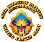 Army - 40th Infantry Division - DUI