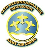 Army Air Corps - 12th Reconnaissance Squadron