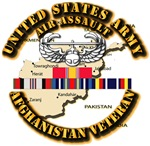 Army - Air Assault w Afghan SVC Ribbons