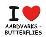 aardvarks - butterflies