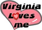 virginia loves me