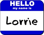 hello my name is lorrie