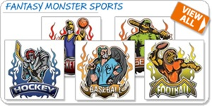 Fantasy Monster Sports T-shirts and Gifts
