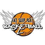 Eat Sleep Play Basketball T-Shirts and Gifts