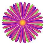 Many Layered Digital Flower