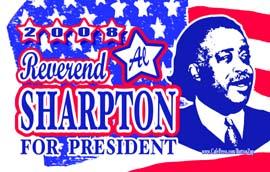 <B>Al Sharpton 2008 Gear</B>