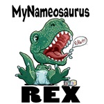 <b>Personalizable Little T-Rex Gear</b>
