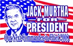 Jack Murtha for President Gear