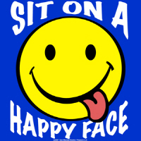 Sit On A Happy Face!