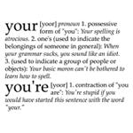 Your/You're