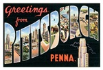 Pittsburgh Vintage Postcard