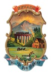 Nevada Vintage Coat of Arms