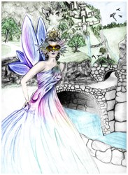 Dragon Pass Castle, Cinderella Fairy Picture Gifts