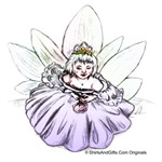 Fairy Child Daughter Of Eve fantasy art t-shirts..