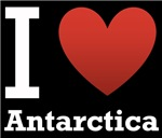 I Love Antarctica Dark Tee