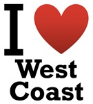 I Love West Coast Light Tee