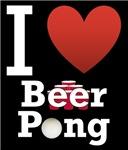 I Love Beer Pong 2 Dark Tee